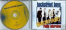BACKSTREET BOYS (BACKSTAGE) RADIO INTERVIEW UK PROMO CD