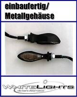 Schwarze LED Blinker Miniblinker BMW F 800 S ST K 1200 R R 1200 GS einbaufertig