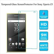 Sony Xperia Z5 New 100% genuine-Tempered Glass Anti-Scratch Screen Protector
