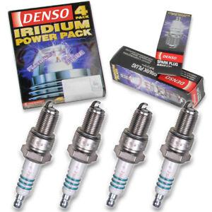 4 pc Denso Iridium Power Spark Plugs for 1984-1985 BMW 318i 1.8L L4 Ignition de