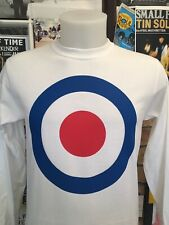 """Large 12"""" Target Long Sleeve T-shirt-mod! Revivalists Moon The Who"""
