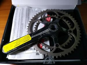 NEW 177.5mm 39/53 Campagnolo Record Ultra Torque Crankset 10 Speed Bike Carbon