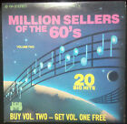 VARIOUS ARTISTS - MILLION SELLERS OF THE 60'S VOLUME 2 VINYL LP AUSTRALIA