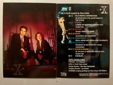 X-Files Complete Basic Set Of 72 Season Two Trading Cards - Individual Cards