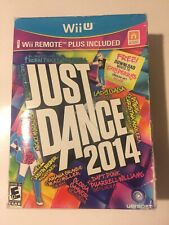 Just Dance 2014 Bundle with Wii Remote Plus Controller - Wii U - NIB SEALED