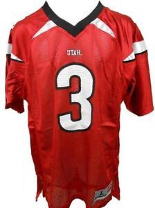 Neuf Rouge #3 Utah Utes Jeunes Ou Enfants Tailles S-M-L-XL (4-5/6-7-18/20)