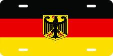 german flag standard car tag license plate