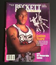 Beckett Basketball Card Monthly November 1996 #76 Damon Stoudmarie Cover