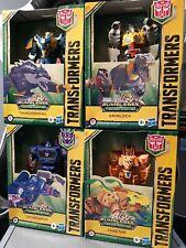 NEW Transformers Bumblebee Cyberverse lot Soundwave Grimlock Cheetor Thunderhowl