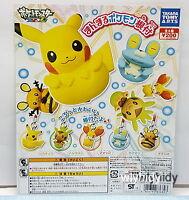 Cute Pokemon Netsuke  Figure Strap 5pcs - Takara Tomy ARTS   , #4ok