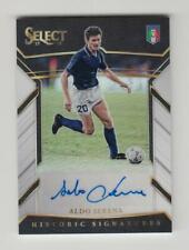 2017-18 Panini Select Soccer Auto card :Aldo Serena #19/99