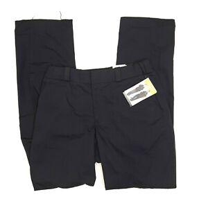 New Elbeco Women's Tek Twill Stretch Lark Uniform Pants - Size 12 Unhemmed Navy