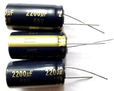 2200uf 50v 105c baja ESR Tamaño 18mmx35.5 mm Panasonic eeufc1h222 X3pcs
