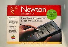Apple Newton MessagePad 120 with original box, Manuals & Flash Card.