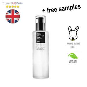 COSRX BHA Blackhead Power Liquid Acne Pimple Oily Skin Sebum - UK SELLER