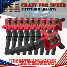 10Pack Ignition Coils For Ford F150 F250 F350 Expedition Mustang V8 V10 DG508