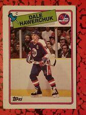 1988-89 Topps #65 Dale Hawerchuk Winnipeg Jets Hockey Card