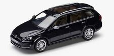 NEW GENUINE VW GOLF MK7 ESTATE DEEP BLACK PEARL 1:43 SCALE DIECAST MODEL CAR