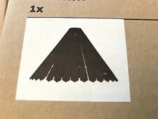 Ikea RYSSBY 2014 Wooden Hanging Pendant Lamp-Black Finish- New In Box!