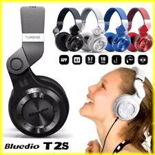 Bluedio T2S Bluetooth Stereo Headphones Wireless Headsets Bluetooth 4.1 Turbine