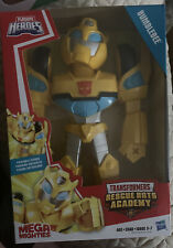 Transformers Rescue Bots Academy Mega Mighties Bumblebee 10-inch Action Figure