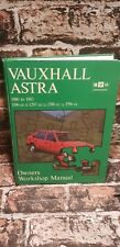 VAUXHALL ASTRA Officina Proprietari Manuale 1980 - 1983 Manuale Haynes Auto Vintage tblo