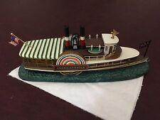 Charles Wysocki Sculpture Capt. Keene's American Eagle Boat New w/ Coa 1998
