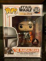 FUNKO POP! The Mandalorian CUSTOM Star Wars Boba Fett Exclusive Protector