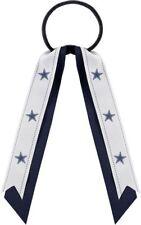 Dallas Cowboys Football Team Logo NFL Grace Collection Streamer Ponytail Holder