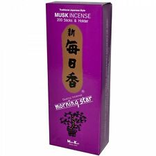 Japanese Morning Star Musk Incense 200 Sticks NK-173 S-1667