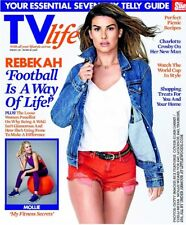 TV Life Mag June 2018: REBEKAH VARDY Lydia Bright CHARLOTTE CROSBY Mollie King