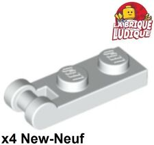 Lego - 4x Plate Modified 1x2 with Handle on End blanc/white 60478 NEUF