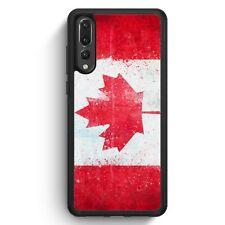 Huawei P20 Pro SILIKON Hülle Kanada Grunge Canada Motiv Design Handyhülle Schut