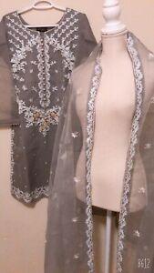 pakistani Very Beautiful Orginza Dress