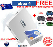 安博盒子4代 UNBLOCK TV TECH GEN 4 ProBT-16GB Bluetooth IPTV TV Box 中港台日韓及成人频道 AU 2018