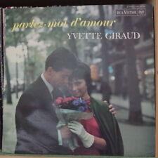 YVETTE GIRAUD PARLEZ MOI D'AMOUR FRENCH LP RCA 1967