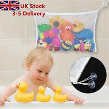 Baby Bath Time Toy Tidy Storage Hanging Bag Mesh Bathroom Organiser Net Kid SP