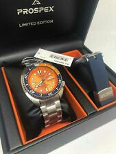Seiko Limited Edition Nemo Orange Turtle 200M Men's Watch SRPC95K1