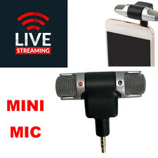 Mini Microphone TRRS 3.5mm External Stereo Personal Smartphone Mobile Cell Phone