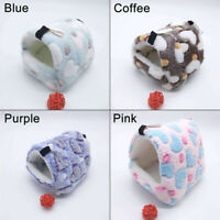 Hamste House Small  Pet Nest Plush Warm Winter for Hamster Squirrel Warm    1