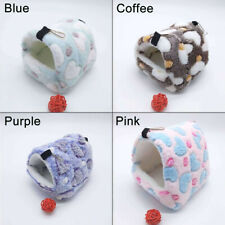 Hamste House Small  Pet Nest Plush Warm Winter for Hamster Squirrel Warm