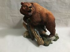 HEAVYWEIGHT CHAMP Nick Bibby Grizzly Bear FIGURINE Danbury Mint