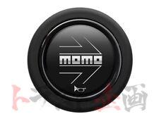 MOMO Horn Button Arrow Matt Black HB-17