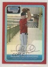 2006 Bowman Chrome Prospects Red Refractor /5 Mark McLemore #BC103