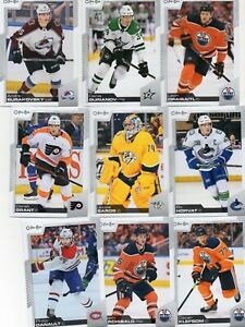 2020-21 O-Pee-Chee Complete Set #1-500