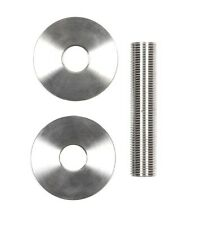 """FRMK: FIRE RING MOUNTING KIT 316 Stainless Steel Threaded Washers & 4"""" Pipe"""