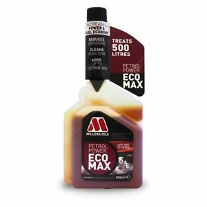 Millers Oils Benzin Power Ecomax Reiniger Additve Booster 500ml Flasche