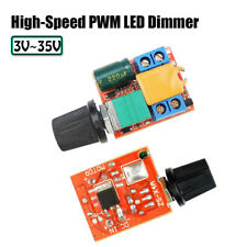 4A 90W 3V-35V Switching Frequency Ultra-compact High-Speed PWM LED Dimmer