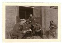 Foto 2.WK Armee Soldaten Luftwaffe Frankreich ca. 1940 Wehrmacht WW2 C10