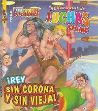 SEXACIONAL DE LUCHAS Y BOX MEXICAN COMIC #448 MEXICO SPANISH HISTORIETA 1998